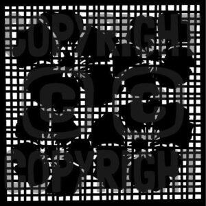Hibiscus Screen Masking Stencil