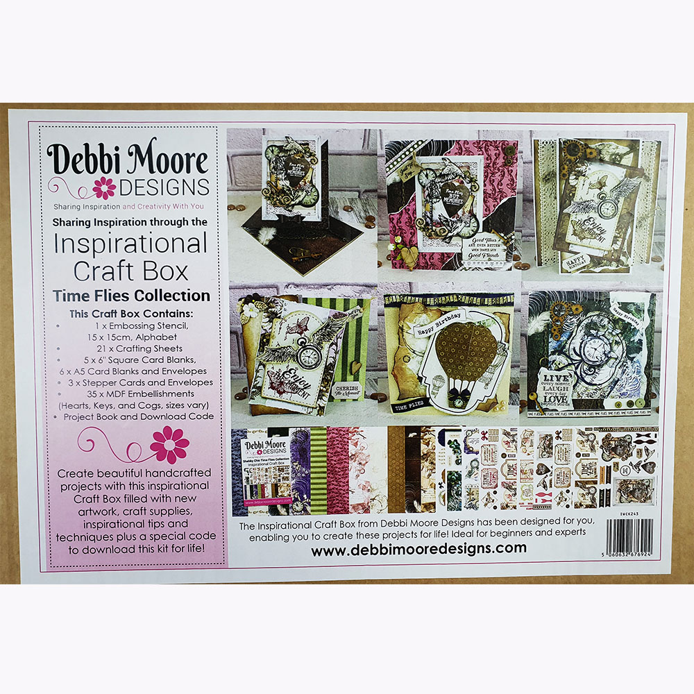 dEBBI mOORE cRAFT bOX tIME fLIES
