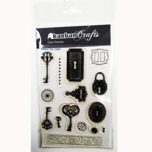 Kanban Clear Acrylic Stamp – Keys-AS60007