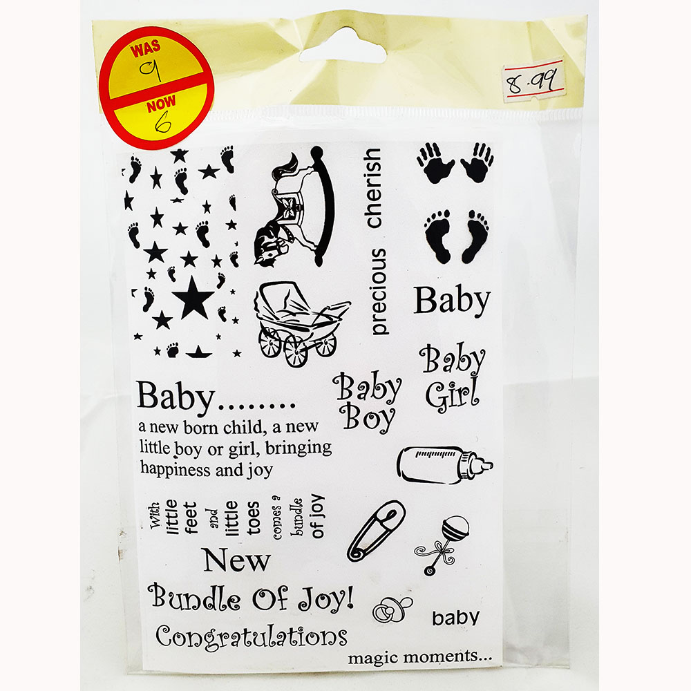 Debbi Moore Baby Stamp-BABE