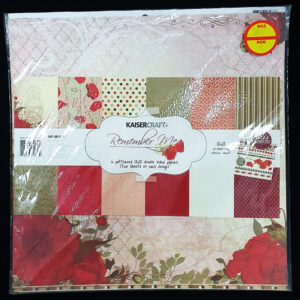 "Kaisercraft 12"" x 12"" Paper Sheets Remember Me"