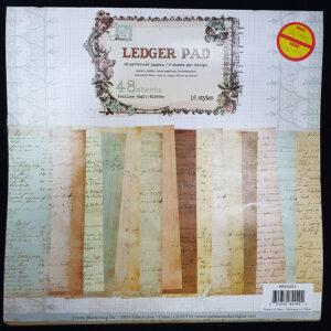 Prima Ledger Paper Pad