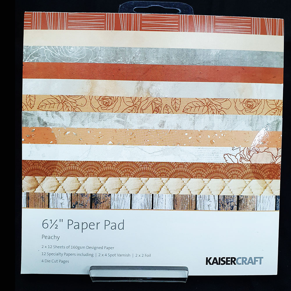 "Kaisercrafts 6.5"" Paper Pad Peachy"
