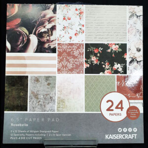 "Kaisercrafts 6.5"" Paper Pad Rosabella"