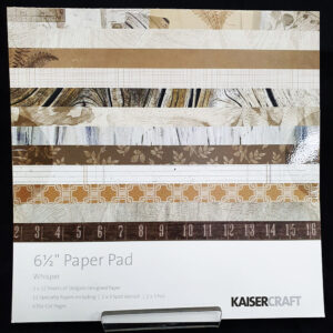 "Kaisercrafts 6.5"" Paper Pad Whisper"