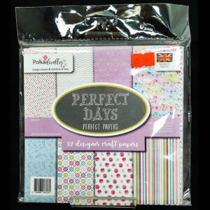 "Perfect Days 6"" x 6"" Paper Pad"