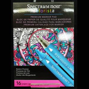 Spectrum Noir Colorista 5x7 Marker Pad -Eastern Promise