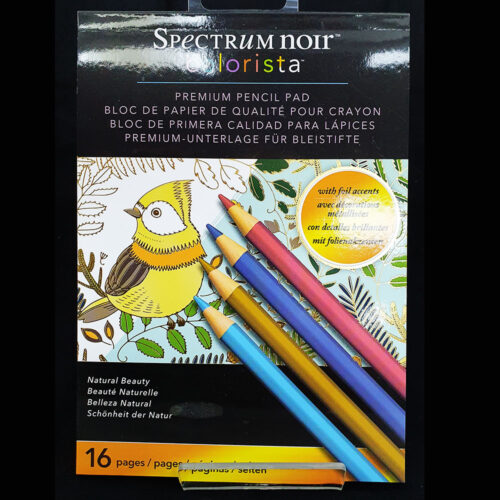 Spectrum Noir Colorista 5x7 Marker Pad -Natural Beauty