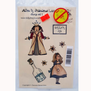 Dolly Dimples Stamps – Alice In Fabulous Land