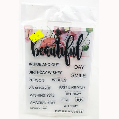 Stamps By Me Acrylic Stamps – Beautiful Words