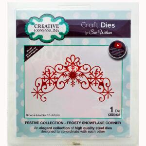Sue Wilson Dies Frosty Snowflake Corner