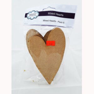 Creative Expressions MDF Shapes-CEMDFHEART