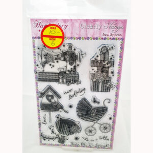 Hunkydory Clearly Stamps – Sew Special