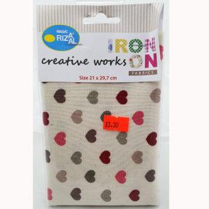 Craft Fabric Hearts
