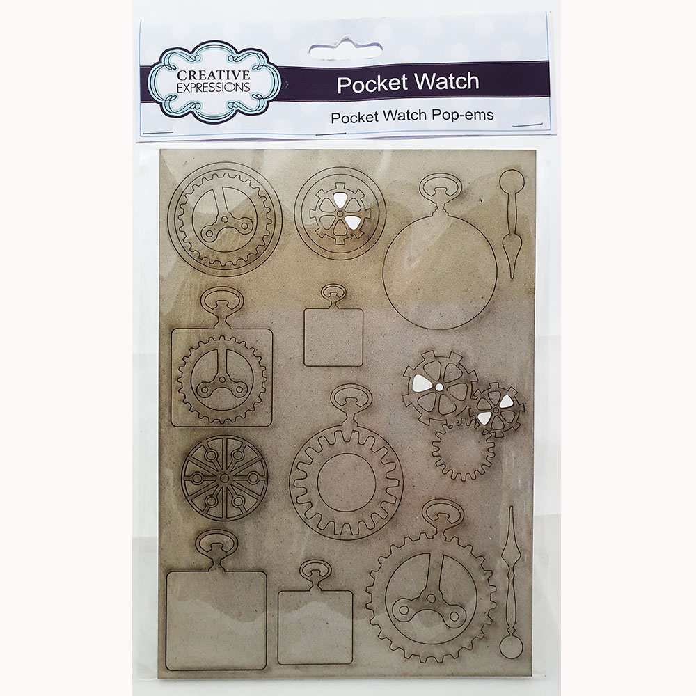 Creative Expressions Pocket watch Pop-Ems-CEGBWATCH