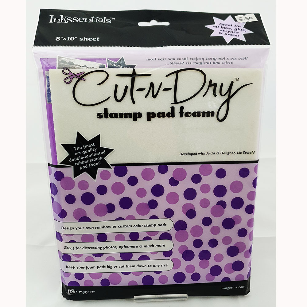 Cut N Dry Stamp Pad Foam