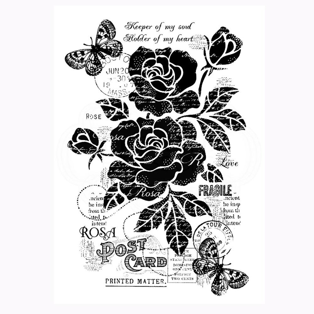 Vintage Roses Stamp