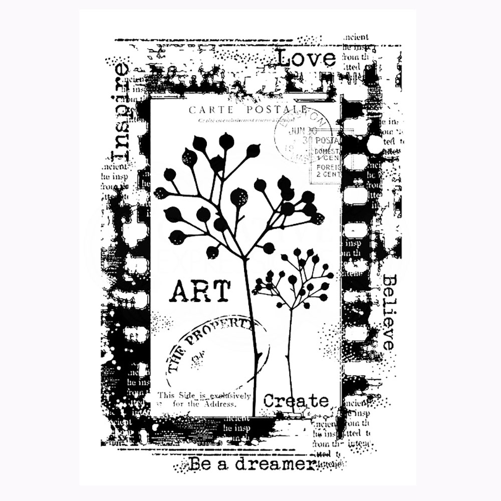Be A Dreamer Stamp