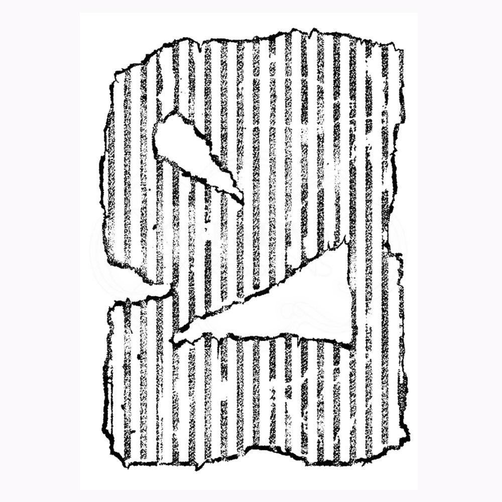 Torn Cardboard Stamp