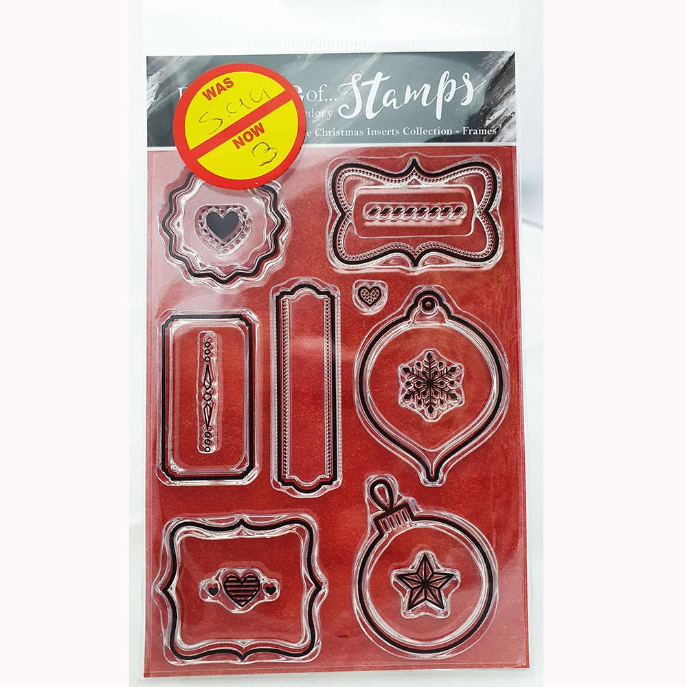 Hunkdory christmas stamp frames-FTLS230