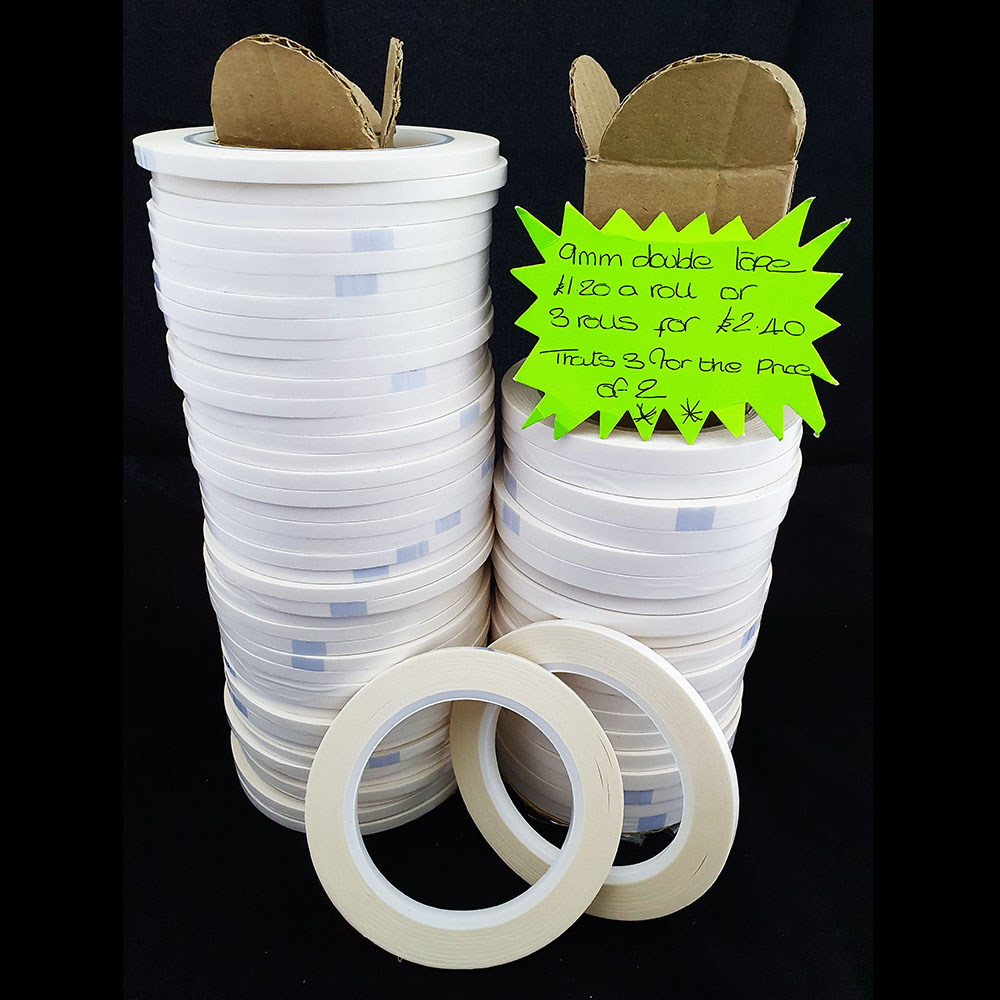 Flush Edge Double Sided Tape 6mm & 3mm