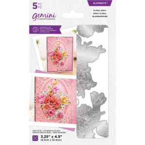Gemini Floral Decoupage Elements Die – Floral Spray