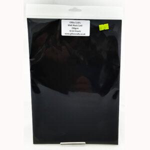 Gillies Crafts Matt Black card 290gsm