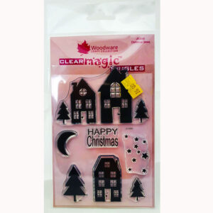 Woodware Stamps – Christmas Street