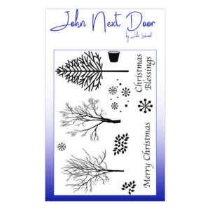 Winter Trees Stamp