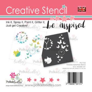 Creative Stencil Timeless Butterflies