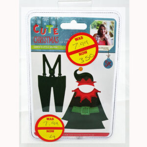 Cute christmas die Sants little helper