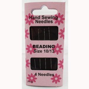 Beading Needles Size 10/13- 4 Needle