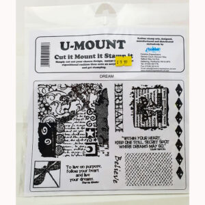 U-Mount – Cut It Mount it Stamp It – Dream